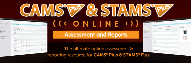 CAMS Plus & STAMS Plus Online Header