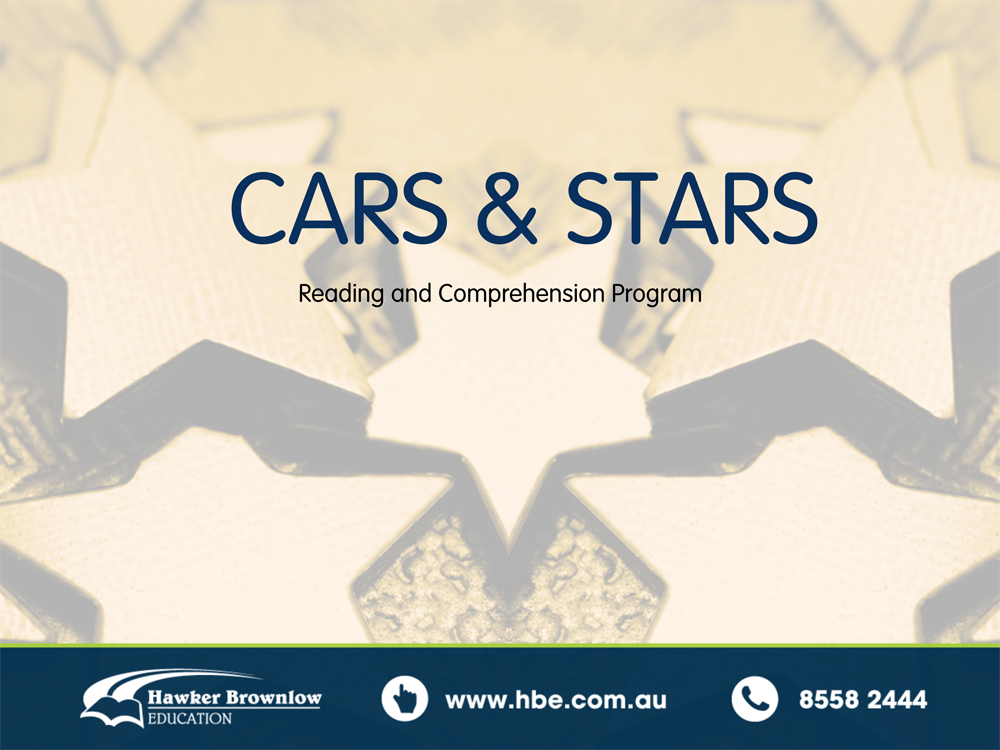 CARS and STARS Overview PowerPoint