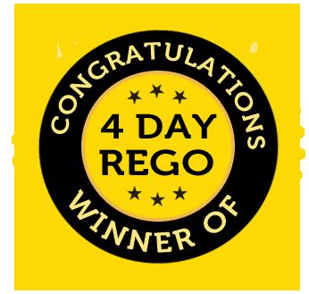 Winner of a 4 Day Rego