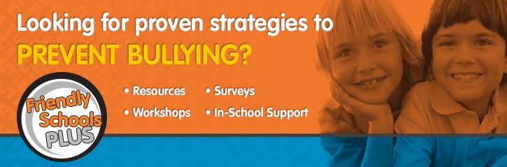 Strategies to Prevent Bullying Header