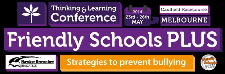 Friendly Schools Plus Conference Header