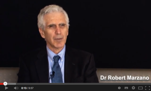 Dr Robert Marzano discusses the origin of the Art & Science of Teaching Model