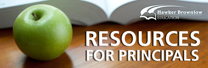Resources for Principals from Hawker Brownlow Education