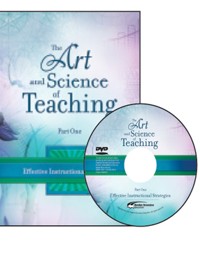 The Art & Science of Teaching Part 1: Effective Instructional Strategies Book and DVD