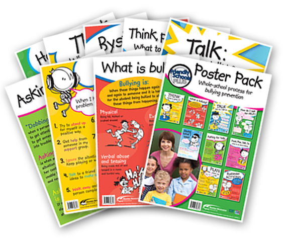 Friendly Schools Plus Poster Series
