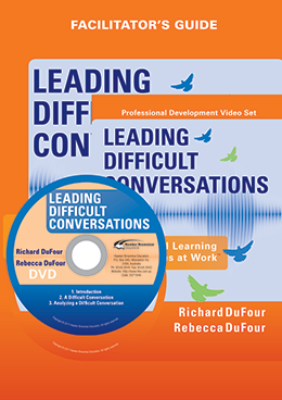 Leading Difficult Conversations: Professional Learning Communities at Work DVD