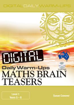 Digital Daily Warm-Ups: Maths Brain Teasers Years 5-8