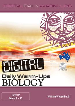 Digital Daily Warm-Ups: Biology Years 9-12