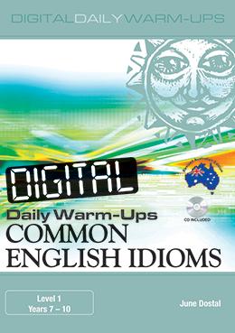 Digital Daily Warm-Ups: Common English Idioms Years 7-10