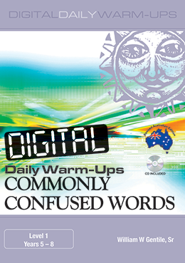 Digital Daily Warm-Ups: Commonly Confused Words Years 5-8