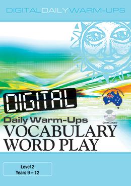 Digital Daily Warm-Ups: Vocabulary Word Play Years 9-12