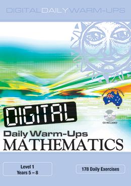 Digital Daily Warm-Ups: Mathematics 5-8